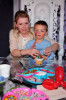 Melissa Joan Hart and her son Mason Wilkerson spotted at his 4th birthday party on January 8th 2010 in Sherman Oaks California 4