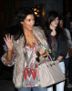 Kim Kardashian spotted wearing light gray boots and top while in Los Angeles on January 9th 2010 5