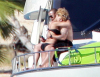 Rihanna picture from her tropical vacation with Matt Kemp on a luxury yacht in Cabo San Lucas in Mexico on January 6th 2010 3