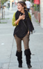 Shenae Grimes seen wearing a colorful wool sweater at Melrose Avenue in Los Angeles on November 27th 2009 2