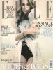 Natalie Portman photo shoot for the February 2010 issue of Elle UK magazine 1