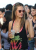 Alessandra Ambrosio spotted at Cafe de la Musique on January 2nd 2010 4