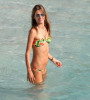 Alessandra Ambrosio photo at the beach of St Barth on December 26th 2009