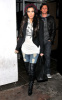 Kim Kardashian was spotted arriving at West Hollywood Beso on January 12th 2010 3