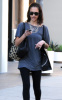 Jessica Alba spotted in Los Angeles on January 11th 2010 while checking her text messaged