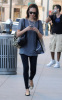 Jessica Alba spotted in Los Angeles on January 11th 2010 while text messaging