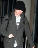 Adam Lambert flies out of Los Angeles LAX airport on January 12th 2010 4