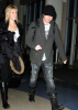 Adam Lambert flies out of Los Angeles LAX airport on January 12th 2010 2