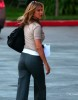 Jennifer Aniston spotted at Disney studios in Los Angeles on January 11th 2010 wearing stylish gray pants 4