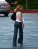 Jennifer Aniston spotted at Disney studios in Los Angeles on January 11th 2010 wearing stylish gray pants 2