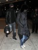 Madonna and Jesus Luz wear face masks as they leave a theater in New York City after seeing Avatar on Januaty 6th 2010 1