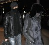 Madonna and Jesus Luz wear face masks as they leave a theater in New York City after seeing Avatar on Januaty 6th 2010 3