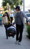 Kourtney Kardashian seen with her boyfriend Scott Disick and their son Mason Dash on January 14th 2010 as they  head to a medical building in Beverly Hills 4