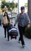 Kourtney Kardashian seen with her boyfriend Scott Disick and their son Mason Dash on January 14th 2010 as they  head to a medical building in Beverly Hills 5