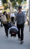 Kourtney Kardashian seen with her boyfriend Scott Disick and their son Mason Dash on January 14th 2010 as they  head to a medical building in Beverly Hills 3