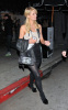 Paris Hilton spotted on her way to an art show wearing a mini leather skirt on January 14th 2010 in West Hollywood 4