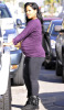 Christina Milian pregnant picture while spotted about to get inside her car on January 14  2010 in Hollywood 2