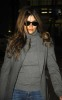Penelope Cruz seen down in Madrid on January 15th 2010 in Spain wearing a simple gray top and denim pants 1