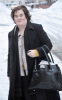 Susan Boyle spotted on January 12th 2010 arriving back to her rural home in Scotland 1