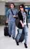 Kim Kardashian and her brother Rob spotted on January 14th 2010 at the Miami FL airport 5