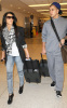 Kim Kardashian and her brother Rob spotted on January 14th 2010 at the Miami FL airport 1