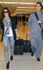 Kim Kardashian and her brother Rob spotted on January 14th 2010 at the Miami FL airport 3