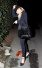 Lindsay Lohan spotted heading home at 4 AM in the morning on January 14th 2010 after attending a Hollywood Hills house party 4