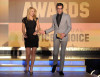 Claire Danes and actor Zachary Quinto present the Best Original Screenplay award during the 15th annual Critics Choice Movie Awards on January 15th 2010 at the Hollywood Palladium 3