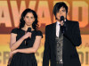 Sarah Silverman and Adam Lambert present the Best Comedy award during the 15th annual Critics Choice Movie Awards on January 15th 2010 at the Hollywood Palladium 3
