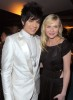 Adam Lambert arrives at the Art of Elysiums 3rd Annual Black Tie Heaven Charity Gala on January 16th 2010 in Beverly Hills were he met actress kirsten dunst