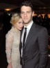 Justin Bartha and Ashley Olsen at the Art of Elysiums 3rd Annual Black Tie Heaven Charity Gala on January 16th 2010 in Beverly Hills
