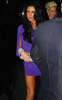 Katie Price was spotted in a stylish purple dress infront of the Mayfair Hotel  in London England on January 16th 2010 to attend an engagement party 1
