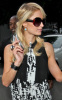 Paris Hilton spotted leaving Zune on January 15th 2010 in Los Angeles California 4