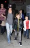 Victoria Beckham spotted with her sons Cruz and Romeo and Brooklyn on January 15th 2010 infront of a Blockbuster video store in Hollywood 4