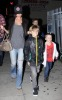 Victoria Beckham spotted with her sons Cruz and Romeo and Brooklyn on January 15th 2010 infront of a Blockbuster video store in Hollywood 3