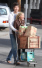 Ashley Tisdale and her boyfriend Scott Speer at Trader Joes on January 10th 2010 in Los Angeles 3