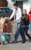 Ashley Tisdale and her boyfriend Scott Speer at Trader Joes on January 10th 2010 in Los Angeles 1