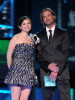 Ginnifer Goodwin and Josh Holloway speak during the Peoples Choice Awards 2010 held at Nokia Theatre LA on January 6th 2010 in California 1