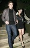 Vanessa Hudgens with Zac Efron at the Birthday party of Vanessa on December 14th 2009 which was held at East Restaurant in Los Angeles 2