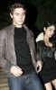 Vanessa Hudgens with Zac Efron at the Birthday party of Vanessa on December 14th 2009 which was held at East Restaurant in Los Angeles 3