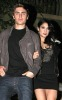 Vanessa Hudgens with Zac Efron at the Birthday party of Vanessa on December 14th 2009 which was held at East Restaurant in Los Angeles 5