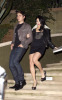 Vanessa Hudgens with Zac Efron at the Birthday party of Vanessa on December 14th 2009 which was held at East Restaurant in Los Angeles 1