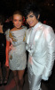 Adam Lambert and Lindsay Lohan spotted at the 2010 Art of Elysium Heaven Gala on January 16th in Beverly Hills 1