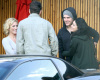 Vanessa Hudgens seen together with Zac Efron on January 19th 2010 infront of Katsuya where they met with Brittany Snow