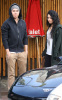Vanessa Hudgens seen together with Zac Efron on January 19th 2010 infront of Katsuya 1