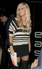 Ashley Tisdale arrives at the East Restaurant and Lounge Bar on December 14th 2009 for Venessa birthday in Hollywood 4
