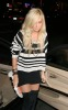 Ashley Tisdale arrives at the East Restaurant and Lounge Bar on December 14th 2009 for Venessa birthday in Hollywood 7