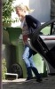 Ashley Tisdale seen infront of her house on January 6th 2010 in Toluca Lake 2