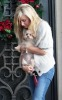 Ashley Tisdale picture as she stops by Coffee Bean and Tea Leaf with her cute puppy on December 13th 2009 around Beverly Hills 2