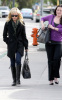 Ashley Tisdale candids while walking around in Toluca Lake on January 15th 2010 in California 2